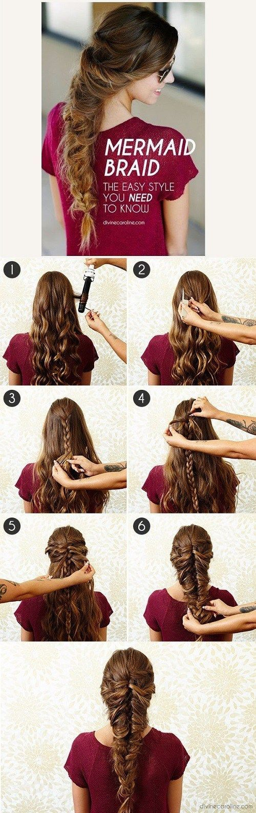 Amazing Half Up Down Hairstyles For Long Hair Braided How