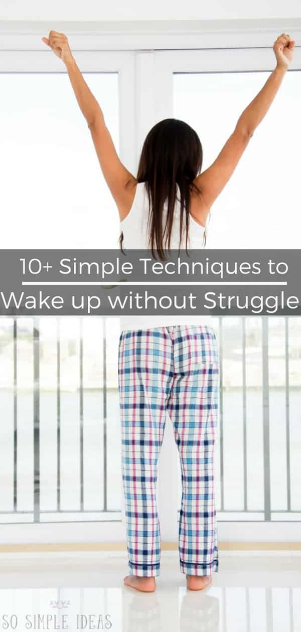 How to wake up in the morning without a struggle