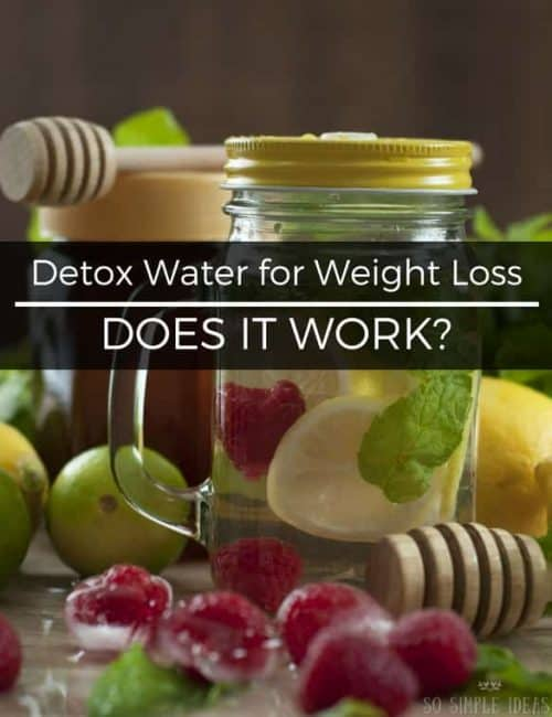 Detox Water for Weight Loss: Does it really work?