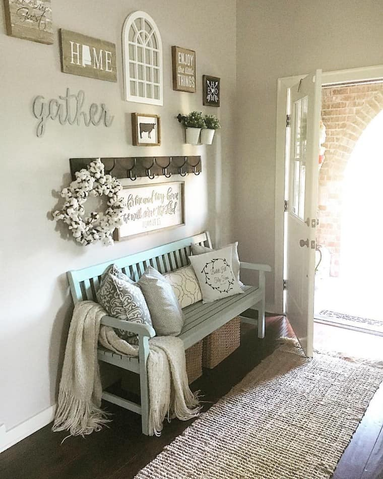 Farmhouse Decor Styling