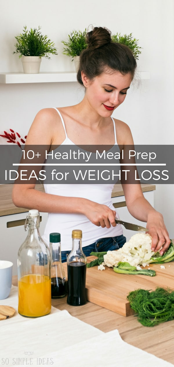 Have you started a keto diet, but too busy to cook? These healthy meal prep ideas to lose weight will help get meals prepped in as little time as possible. #ketodiet #loseweight #weightloss #mealprep #healthy | sosimpleideas.com