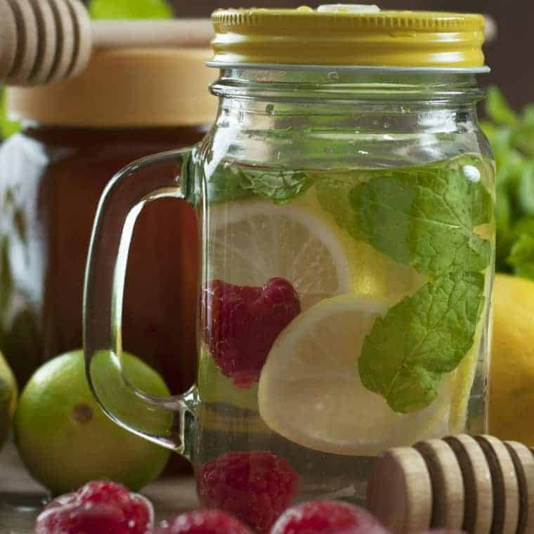 Using detox water for weight loss