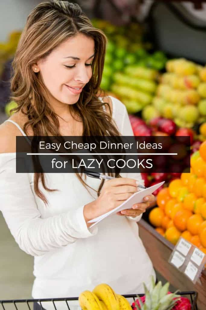 Shocked by how much money you or your family spend eating out? Save money with these easy cheap dinner ideas.