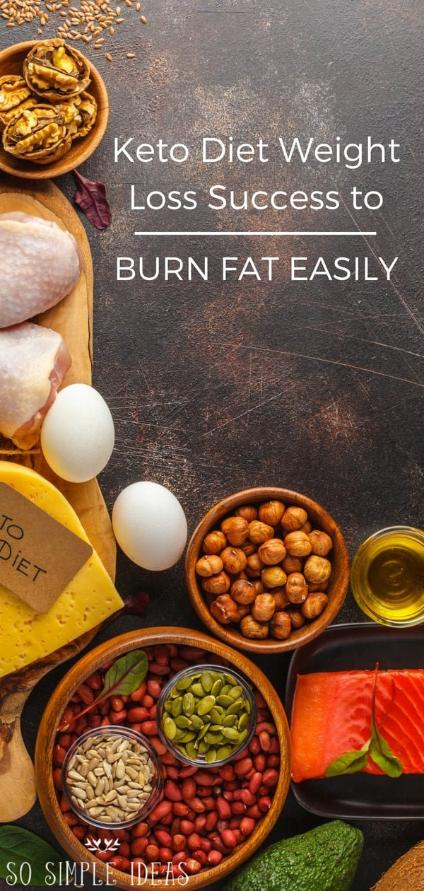 If you've been hearing lots of stories about keto diet weight loss success, here's how you can go about having your own success story… #ketodiet #keto #lowcarb #weightloss | sosimpleides.com