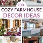 cozy farmhouse decor ideas pinterest image
