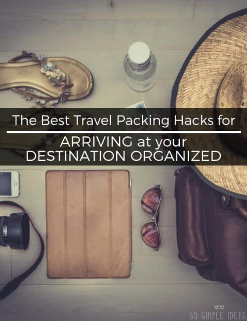 Tired of being charged for having excess baggage? And tired of arriving at your destination unorganized? Try these travel packing hacks....