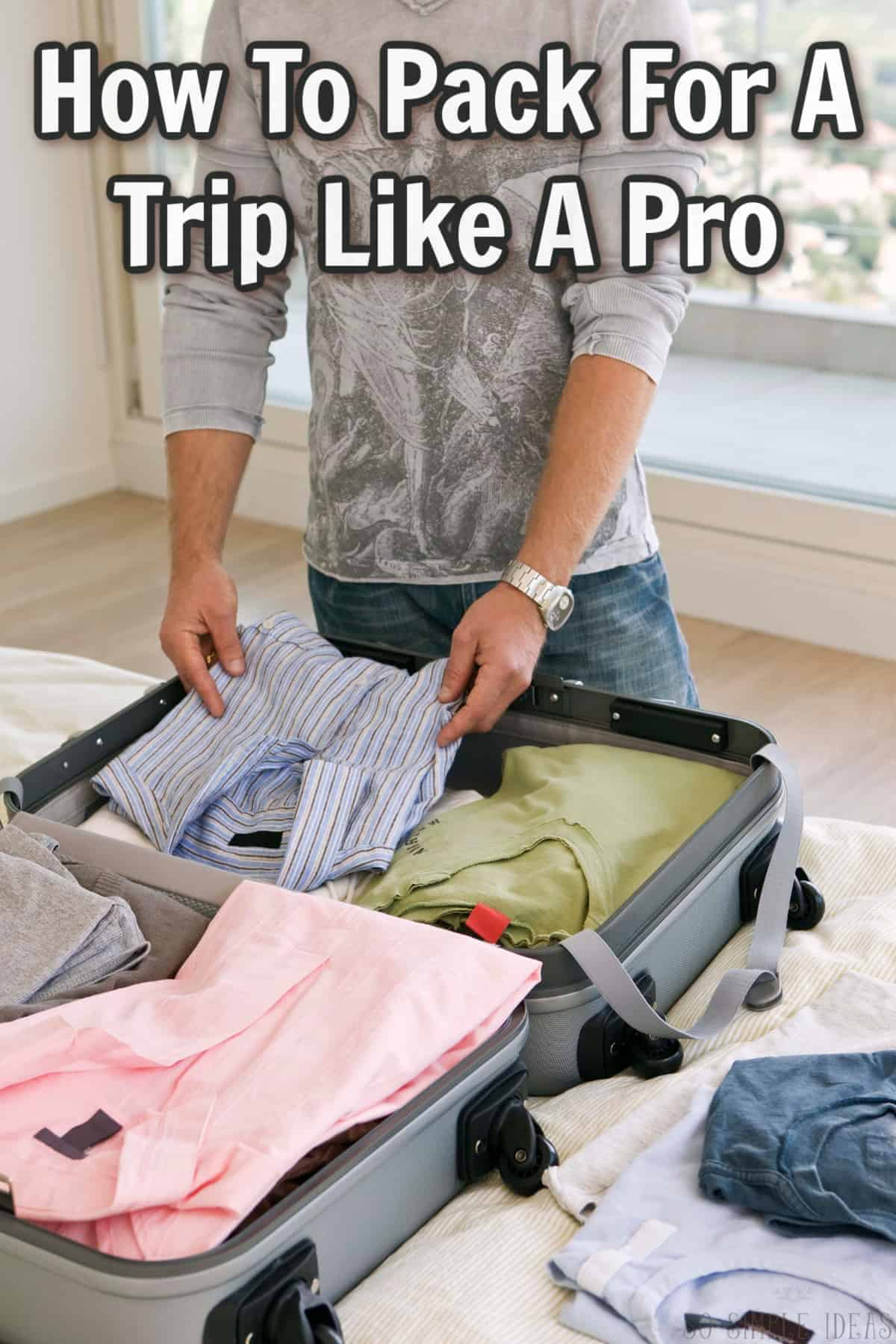 how to pack for a trip cover image