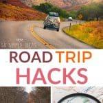 road trip hacks pinterest image