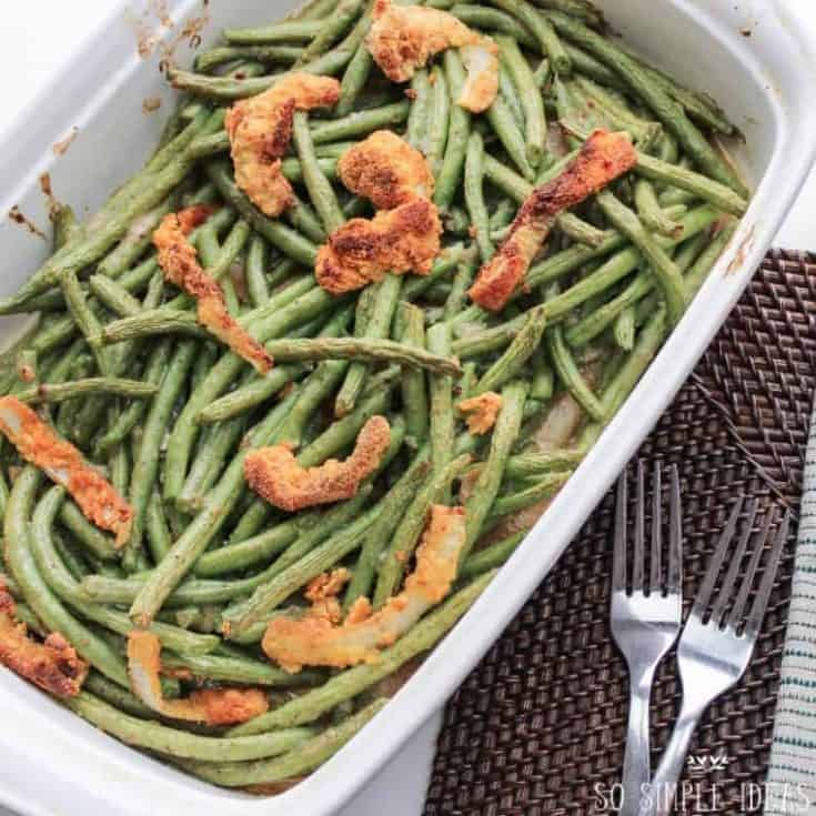 Gluten Free Green Bean Casserole (Low Carb)