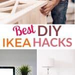 best DIY IKEA hacks pinterest image