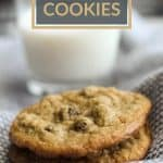 diary free gluten free chocolate chip cookies pinterest image