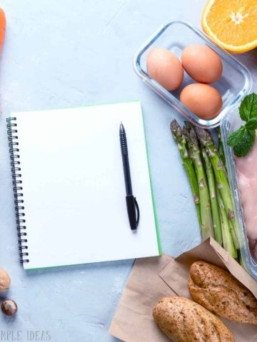 family meal planning ideas featured image