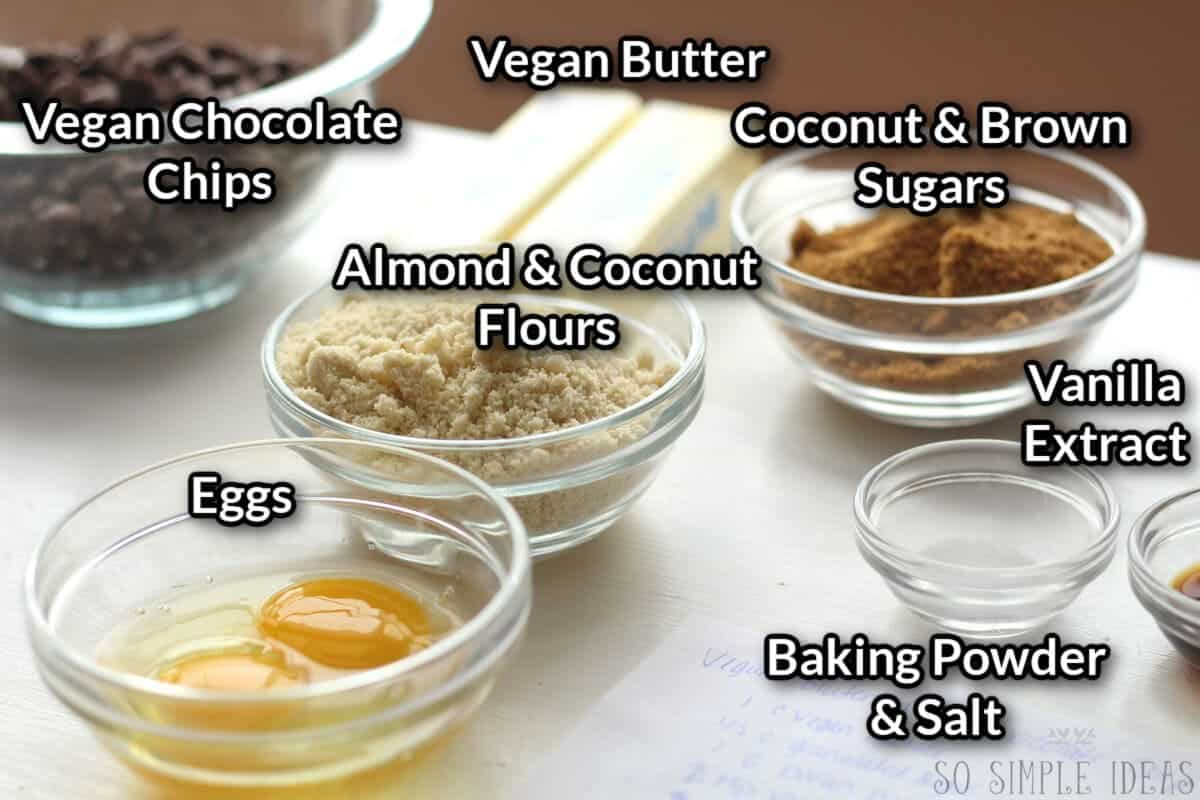 gluten free chocolate chip cookies recipe in