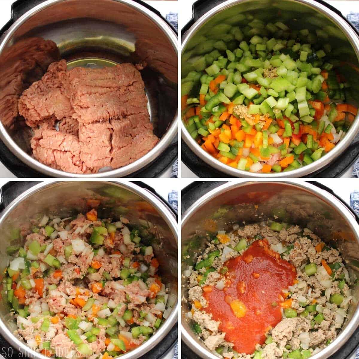 initial recipe steps