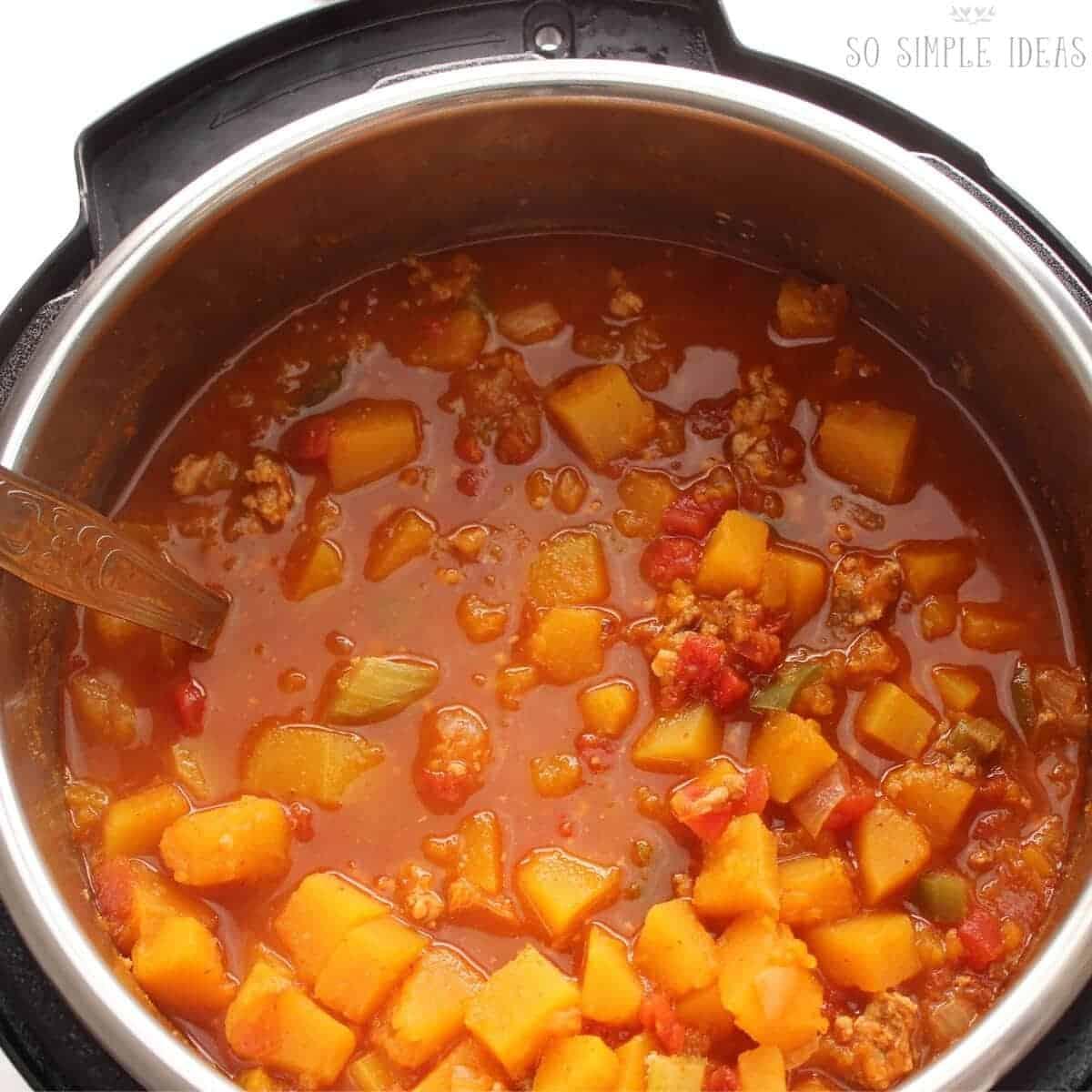 turkey chili in instant pot