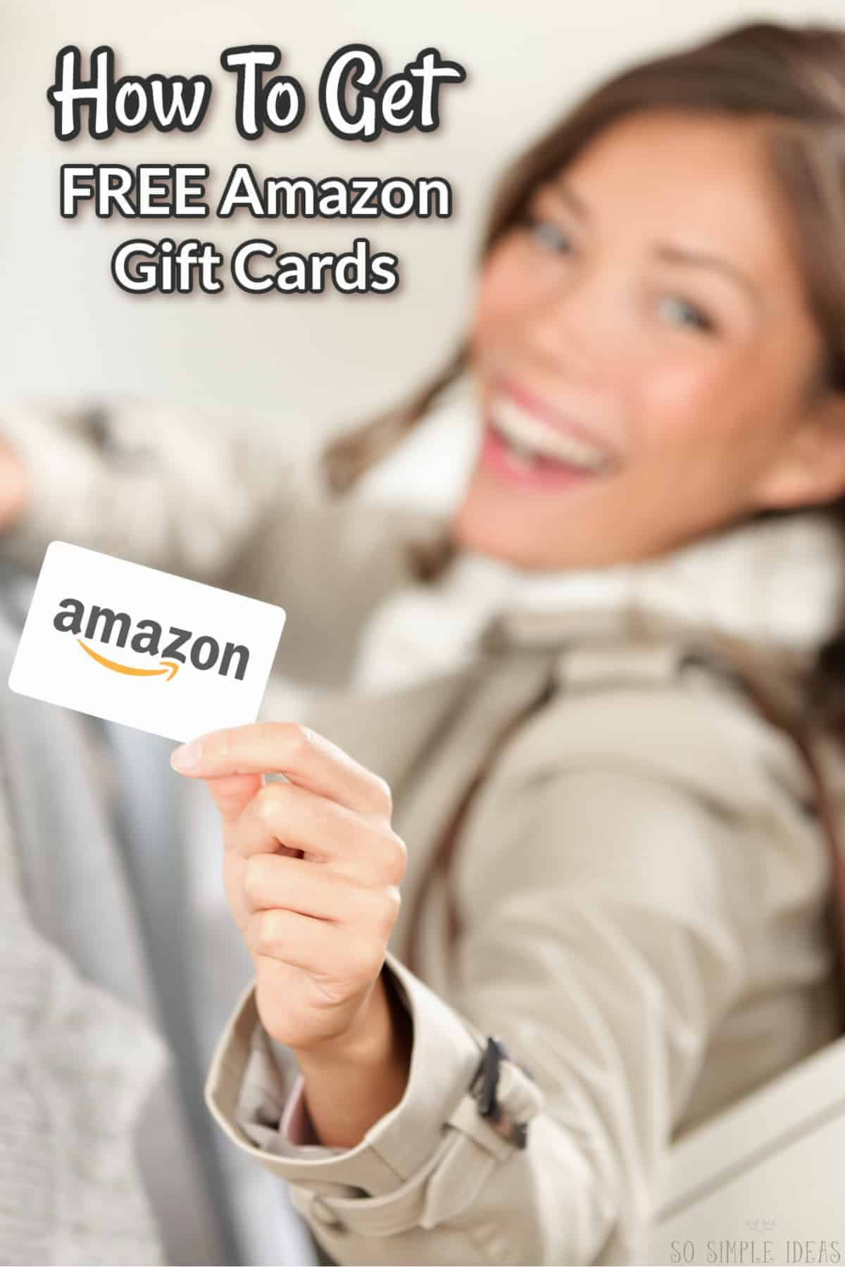 how to get free amazon gift cards cover image