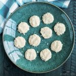 coconut keto no bake cookies featured image