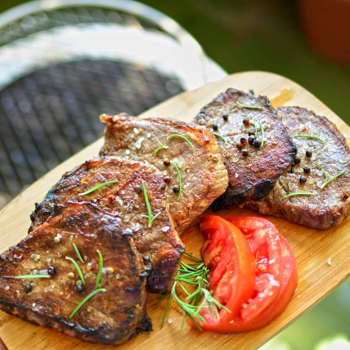 grilled meat lazy dinner idea for making healthy recipes for weight loss
