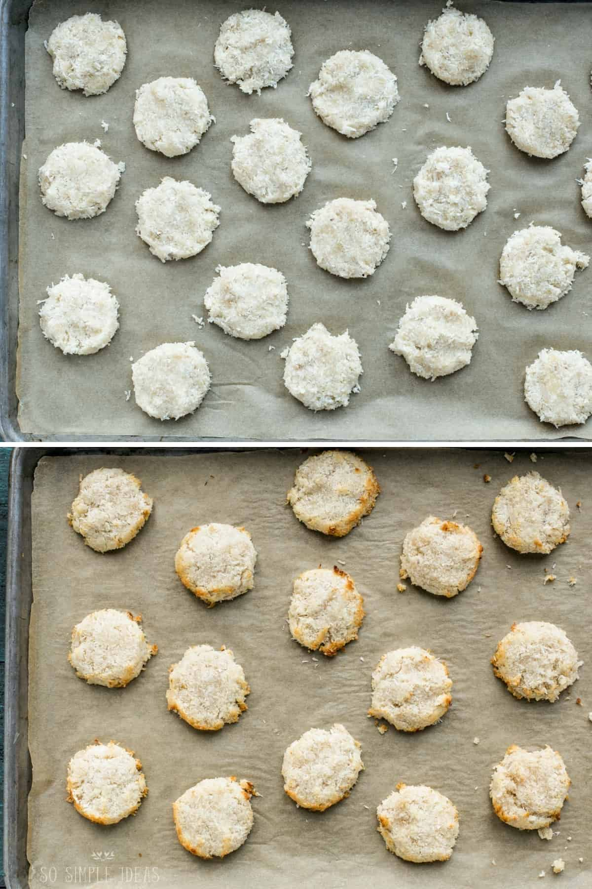 optional baking for the no bake cookies