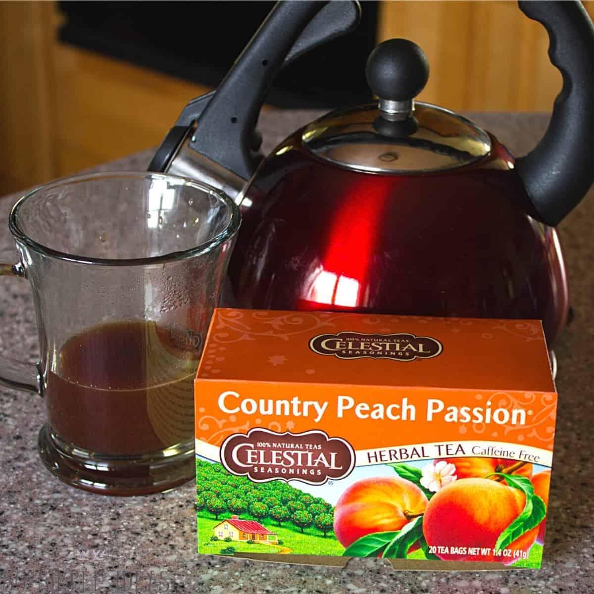 herbal peach tea ingredient