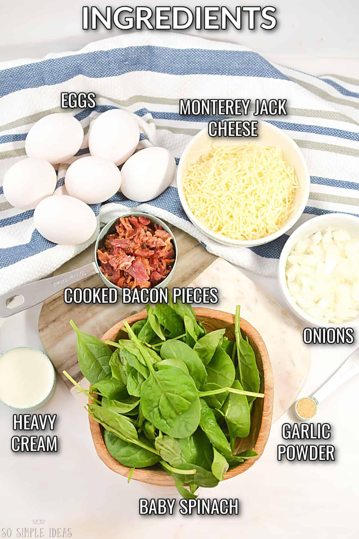 keto egg muffins recipe ingredients
