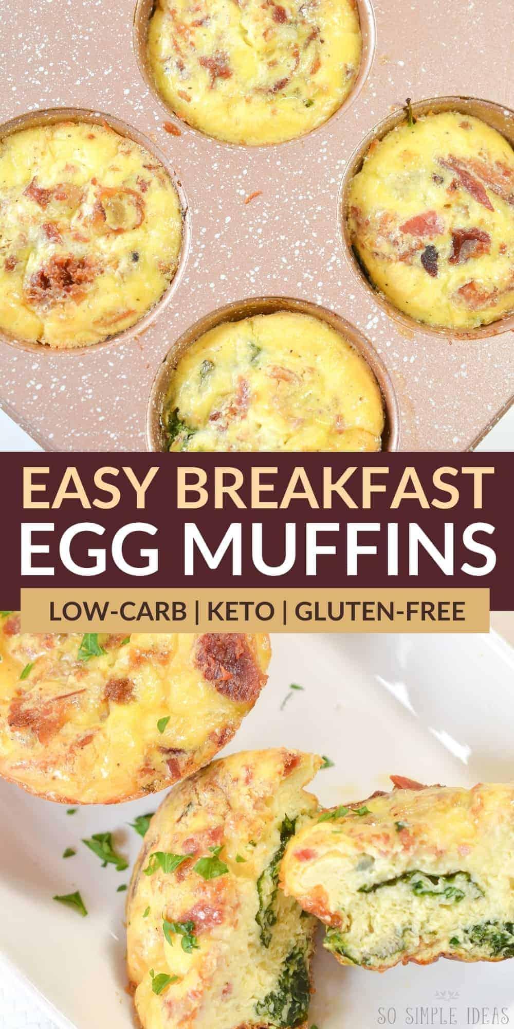 breakfast egg muffins pinterest image