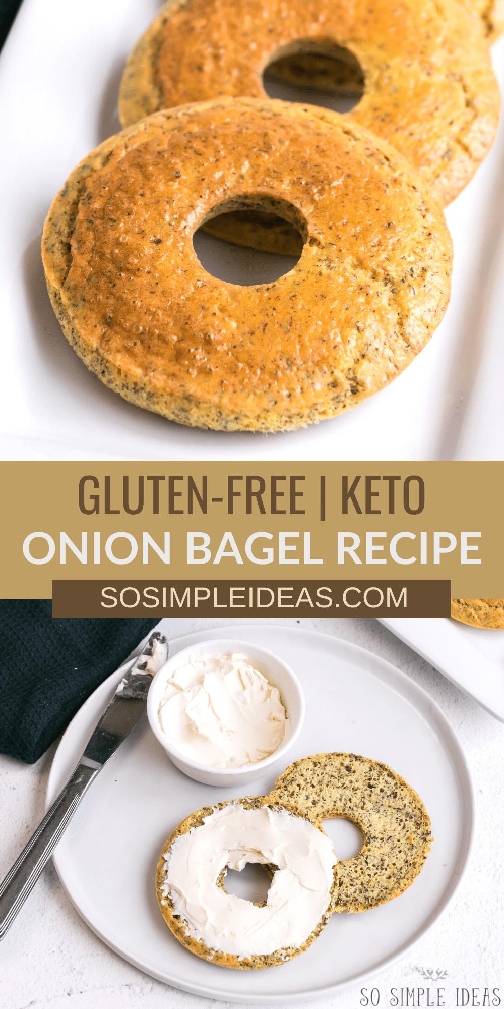 keto onion bagels pinterest image